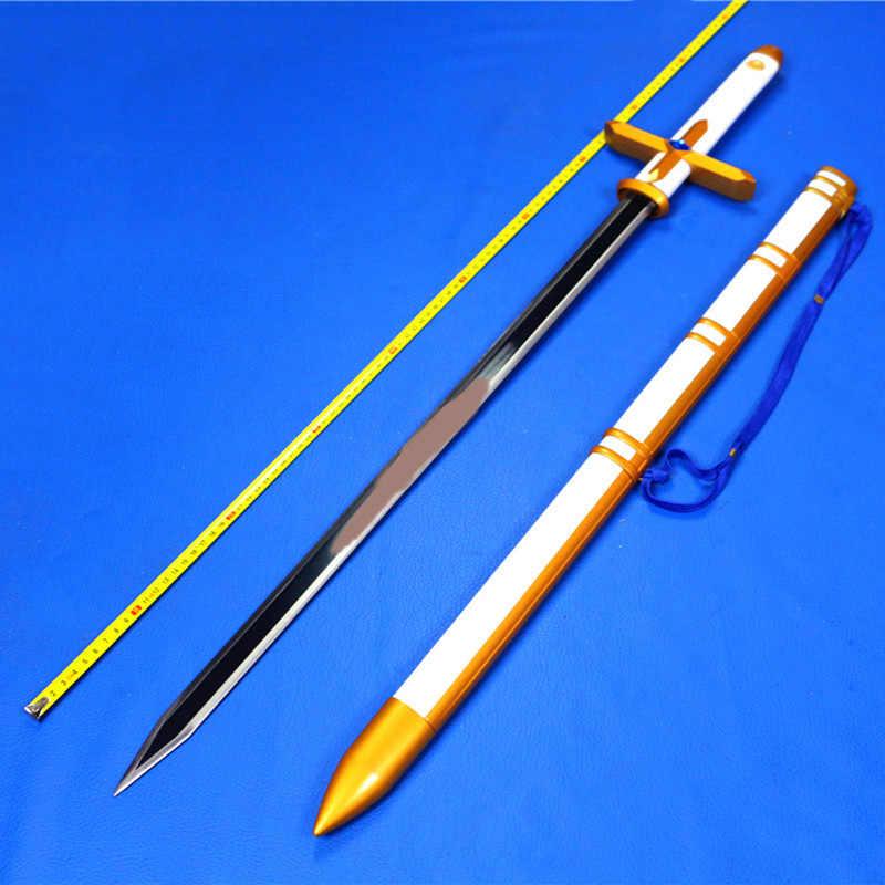 Quipper pan Phim Hoạt Hình tay đôi thanh kiếm Cosplay thép Thanh Kiếm lưỡi dao vũ khí Cosplay Đạo Cụ vận chuyển miễn phí