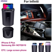 Car Qi Fast Wireless Charging Phone Holder Fast charger For Infiniti Q30 QX50 QX60