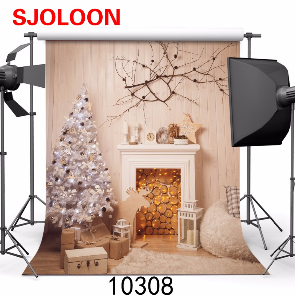 SJOLOON Christmas photography backdrops baby photography background family photography background fond photo studio vinyl props shengyongbao 300cm 200cm vinyl custom photography backdrops brick wall theme photo studio props photography background brw 12