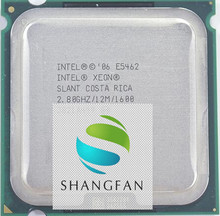 INTEL XEON E5462 SLANT 2.8GHz/12M/1600MHz/CPU equal to LGA775 Core 2 Quad Q9550 CPU,works on LGA775 mainboard no need adapter