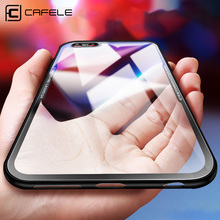 Cafele Glass Case for iPhone Xs/ XR/ Xs MAX HD Clear 9H Hardness Anti Scratch Tempered
