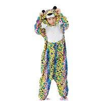 Adult Fleece Kigurumi Costume For Halloween Carnival Party Jack Skellington Raccoon Leopard Whale Penguin Scrupm Rabbit Elephant