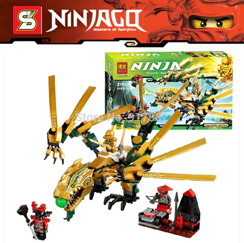 25Ninjago Set Lloyd The Golden Dragon Sphere Attack Building Brick Blocks Minifigures Hero Toys Lepin 70503