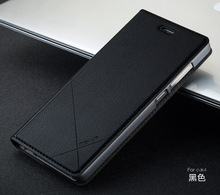 Xiao Mi Mi4 чехол для телефона Простые Модные ультра-тонкий кожаный smart auto сна/Awake Флип Чехол Smart Для Сяо Mi Mi4 M4 Mi 4