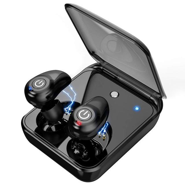 TWS i7 Blutooth Oortelefoon IPX5 waterdichte Sport Draadloze Oordopjes 3D Stereo Sound Draadloze Hoofdtelefoon voor Telefoon Met Opladen Doos