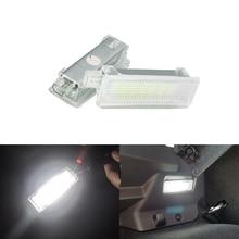 2 шт. ошибок Led любезно осветительных приборов для ног под дверь светильник для BMW E60 E87 E70 E90 E92 E63 E65 E85 M3 E89 Z4 E70 X5 E71 X6 F25
