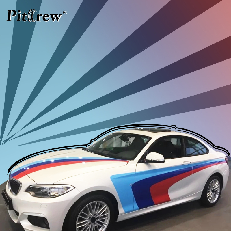 Cool Colorful Personalized Car Stickers Lines Car Styling Decals Exterior Car Accessories for Motorcycle Car Whole Body car styling quality vinyl decal sticker cool racing sport stripes car stickers on the whole body car accessories for toyota reiz