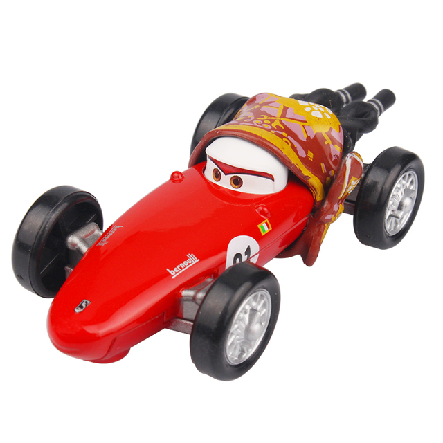 Disney Pixar Cars Movie Cars 2 Francesco F1 Mother 1 55 Diecast Metal Alloy  Toy Birthday Christmas Gifts For Kids Cars Toys f5afe7895569