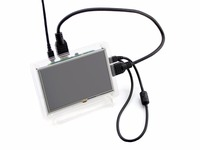 Raspberry Pi LCD Display 5 Inch HDMI LCD B With Clear Case Touch Screen Supports Raspberry
