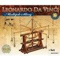 DIY 3D rompecabezas niño juguetes maquetas ciencia ciencia adultos rompecabezas de juguete modelo de ensamblaje de Da Vinci manuscrito colección