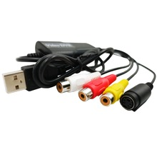 USB 2.0 Easycap TV Tuner DVD Capture Converter Record Receiver Audio Video