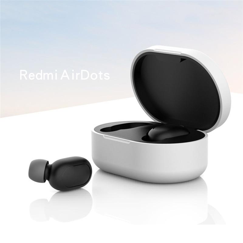 Новое поступление силиконовый защитный чехол для наушников для Xiaomi Redmi Airdot TWS Bluetooth наушники модная версия беспроводной - Цвет: Type-A