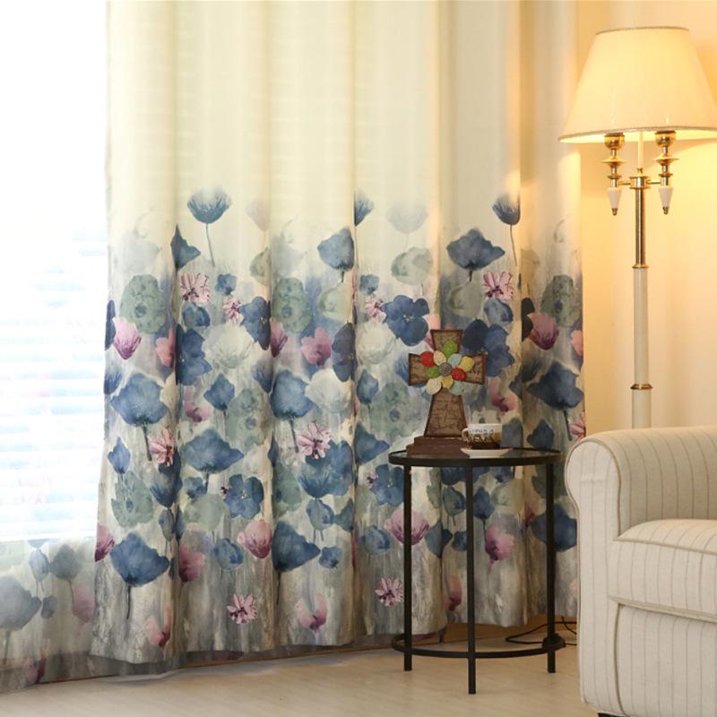 nuevas cortinas para el dormitorio sala de estar comedor de estilo europeo impresin dplex de
