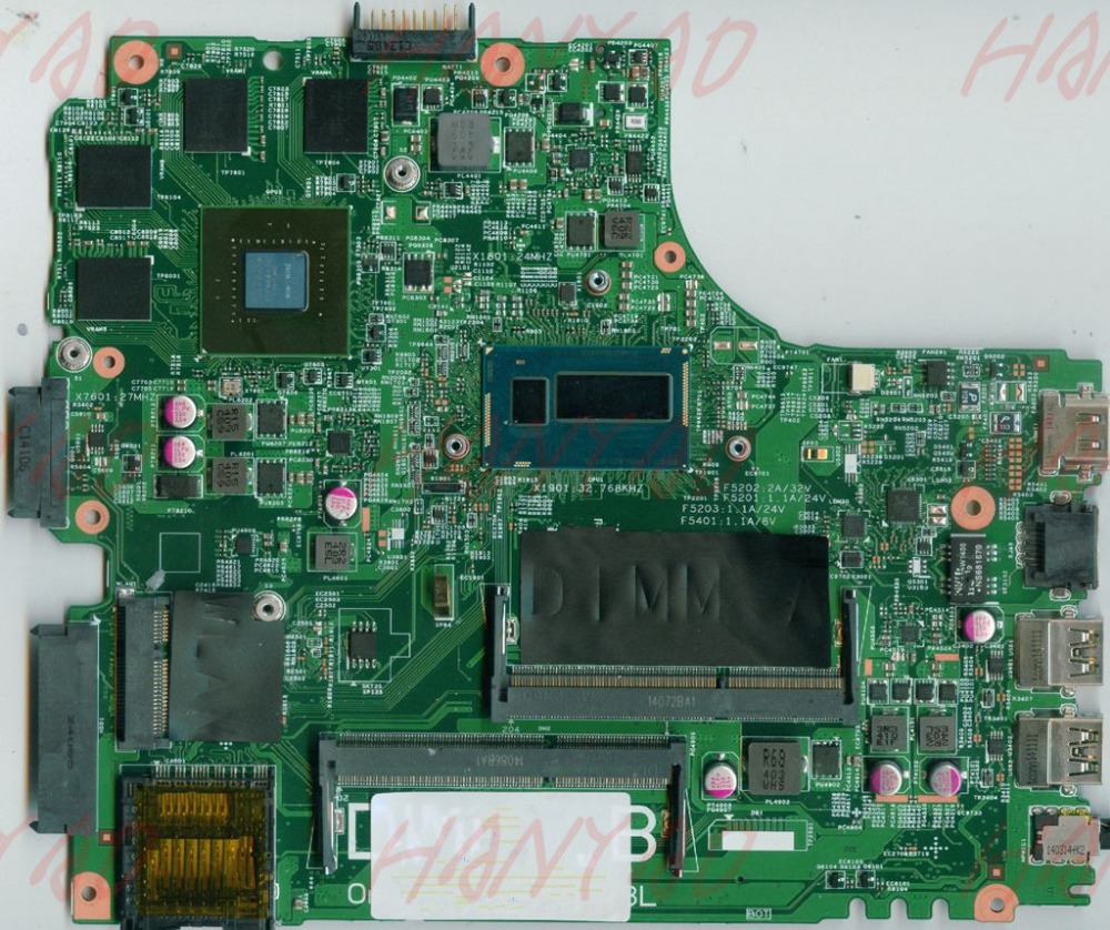 01C6NT CN 01C6NT For Dell 5437 Laptop Motherboard i7 cpu DDR3 100 tested in Laptop Motherboard from Computer Office