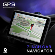 706 7 pollici Camion Navigazione GPS Per Auto Navigatore Win CE 6.0 Touch Screen Video Audio Giocatore del Gioco Auto Navigatori GPS con Il Programma Libero
