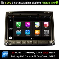 Android 8,0 система PX5 Octa 8 ядерный Процессор 2G Ram, 32 ГБ Rom автомобильный dvd радио GPS для HYUNDAI H1 grand starex H 1 путешествия H 1 грузовой iLOAD