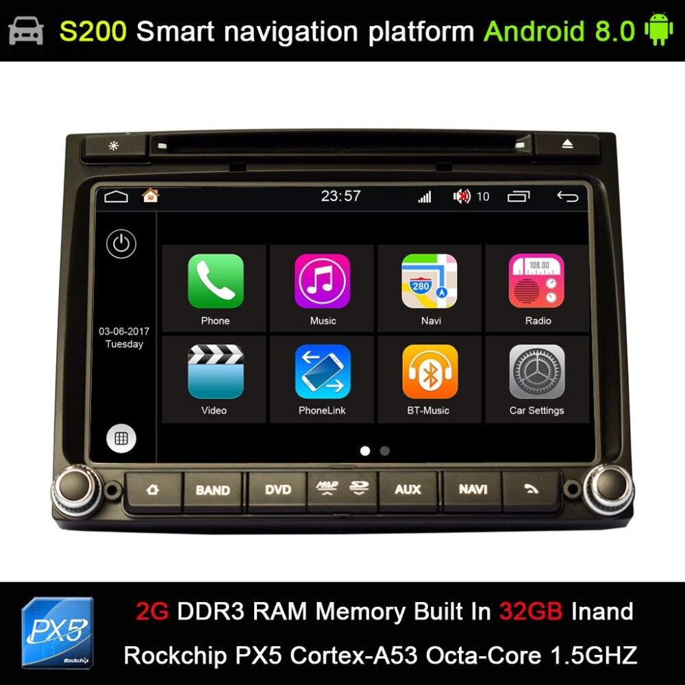 Android 8 0 system PX5 Octa 8 Core CPU 2G Ram 32GB Rom Car DVD Radio
