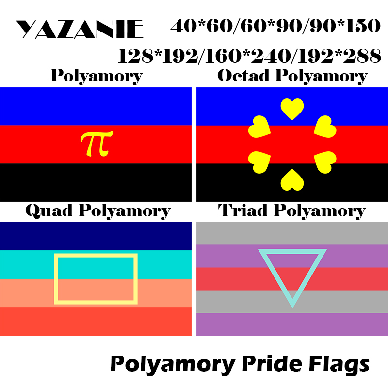 Yazanie 128 192cm 160 240cm 192 288cm Lgbt Polyamory Egalitarian Hierarchical Quad Pentad Hexad Triad Pride Flags And Banners Flags Banners Accessories Aliexpress National and polyamorous flag history. yazanie 128 192cm 160 240cm 192 288cm lgbt polyamory egalitarian hierarchical quad pentad hexad triad pride flags and banners