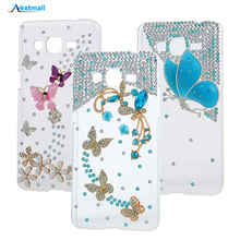3D Glitter Diamond Protective Hard Clear Protective Back Cover Case For Samsung Galaxy Core Prime G360 G361 G360h G361f