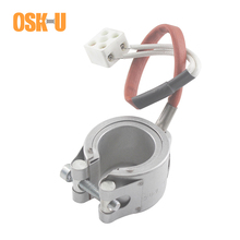 Aluminium Plate Electric Heater Element 55mm ID 55x40/55x60mm Height Ceramic Band for Plastic Machinery Wattage 400W