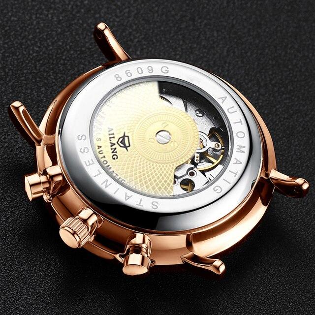 ailang дизайнерские брендовые автоматические швейцарские часы фотография