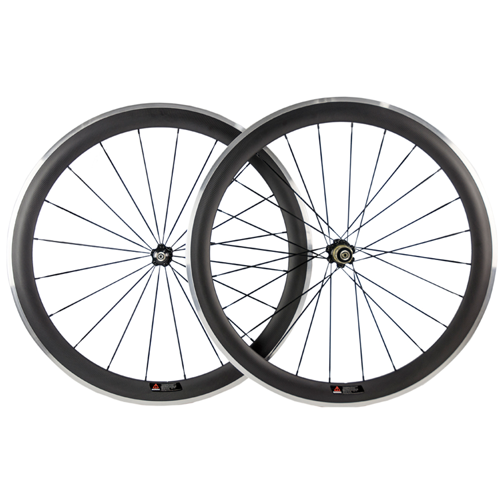 50mm Carbon Wheels Clincher With Alloy Brake Surface R36 Hub Road Bike Carbon Wheelset Aluminum Braking Surface gub aluminum v brake road bike wheels 42mm cheap wheels with alloy brake surface clincher wheelset 700c 10 11speed compatible