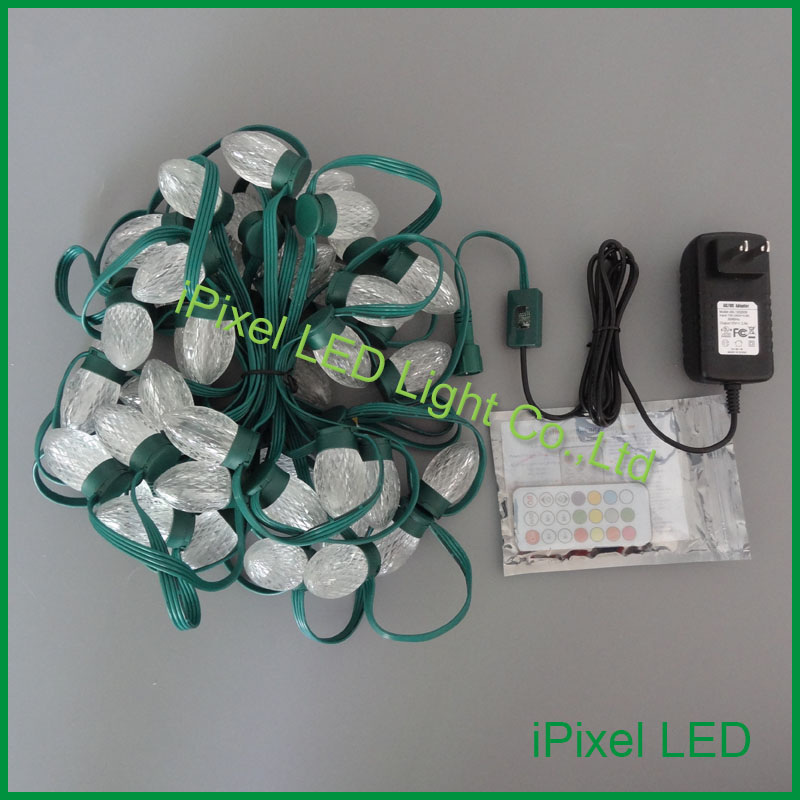 ФОТО D24 12V RGB led string light for christmas