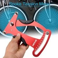 Bicicleta roda bicicleta falou medidor de tensão indicador tensiômetro medidor attrezi construtores ferramenta|Ferramentas p/ reparo de bicicletas| |  -