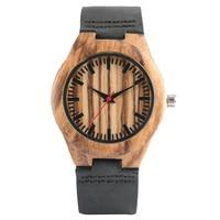 Top Gift Wood Watches Women S Unique Nature Wooden Bamboo Handmade Quartz Wrist Watch Male Clock