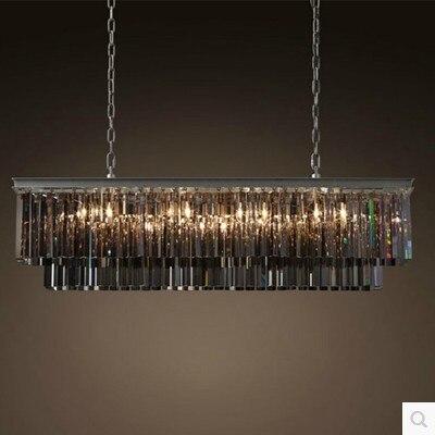 American crystal chandelier personalized living room crystal Nordic creative Villa Hotel Chandelier SJ18