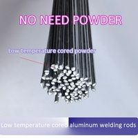 Low Temperature Cored Aluminum Welding Rods Wire No Need Aluminum Powder Instead Of WE53 Copper And
