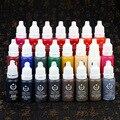 23 cores de Maquiagem Permanente Micro Pigmentos Cosméticos encre tatouage Tatuagem preta Tinta Permanente Sobrancelha Delineador Lip Tattoo Supplies