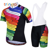 2019 Man Bicycle Clothes Short Sleeve Cyclist Cycling Clothing Sets Windproof Quick Dry Summer MTB Cycling Jersey Male
