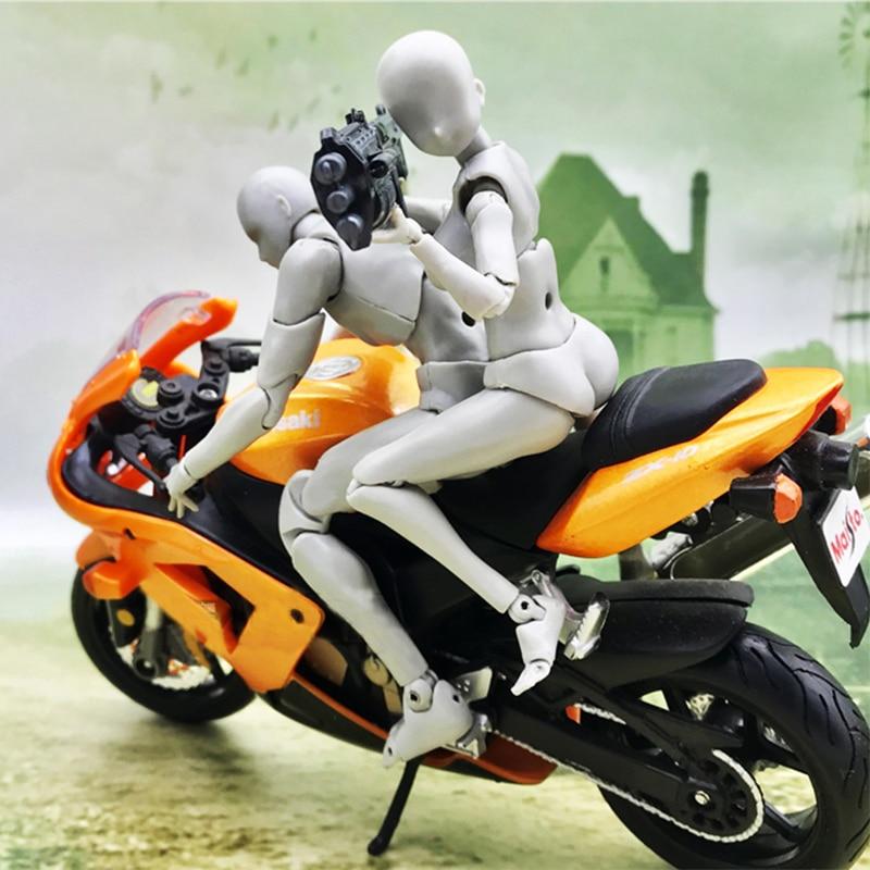 BODY KUN BODY CHAN Անիմե Archetype Նա ինքն է մոտոցիկլ Ferrite Figma Շարժական PVC գործողությունների գործիչ