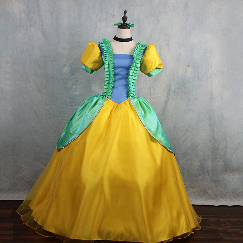 Cinderella Anastasia Drizella cosplay Costume Fancy party dress costumes for adult Cinderella sisters dress Halloween gift