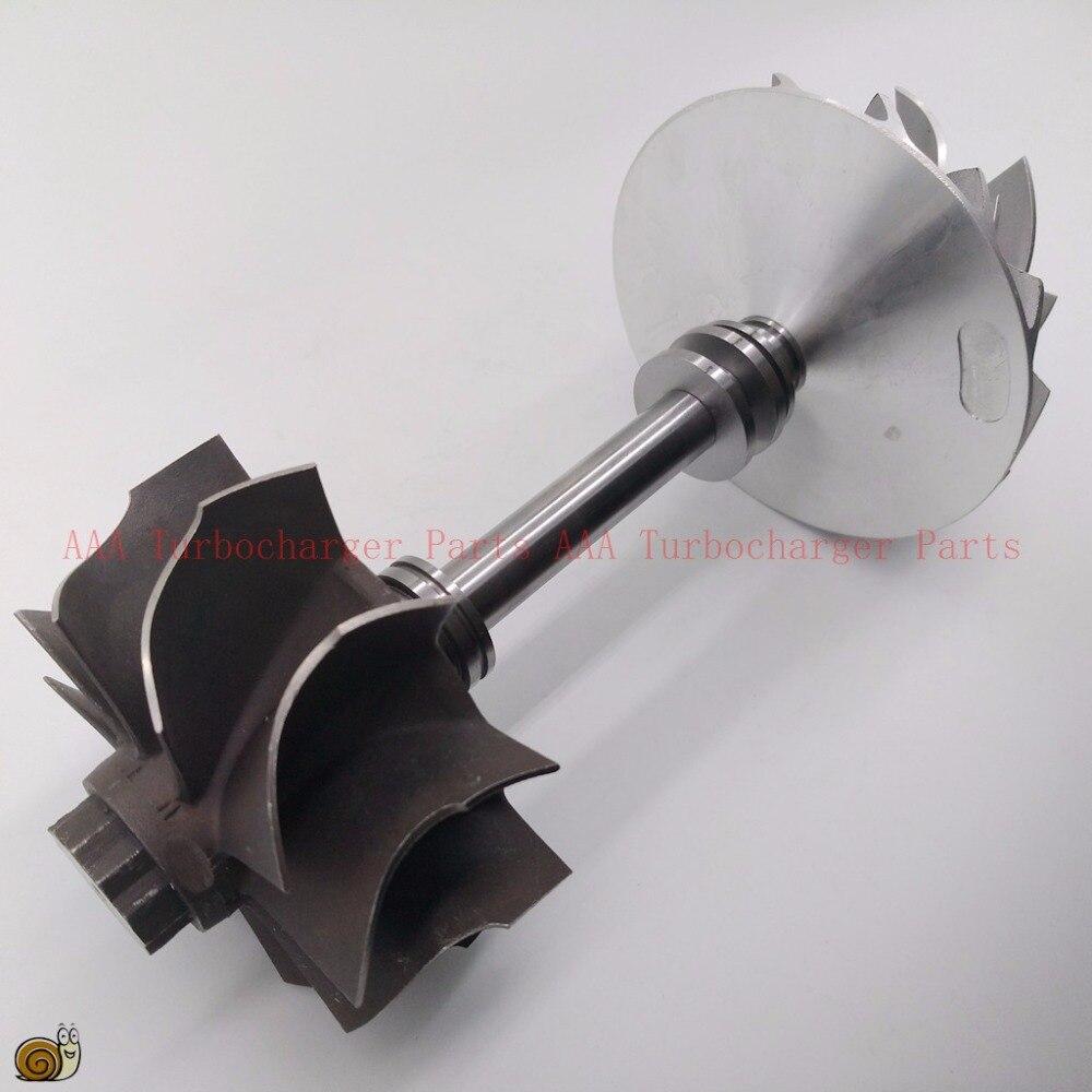 S300 Turbo parts turbine shaft wheel 67 6x76 4mm compressor wheel 61x86 9mm supplier AAA Turbocharger
