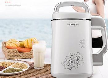 Joyoung household DJ13B-C660SG stainless steel Soybean Milk machine home soymilk maker juicer nuts dew grain blender 1.3L white