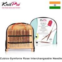 Knitpro Cubics Austauschbar Rund Stricken Nadel Set|Nähwerkzeuge & Zubehör|Heim und Garten -
