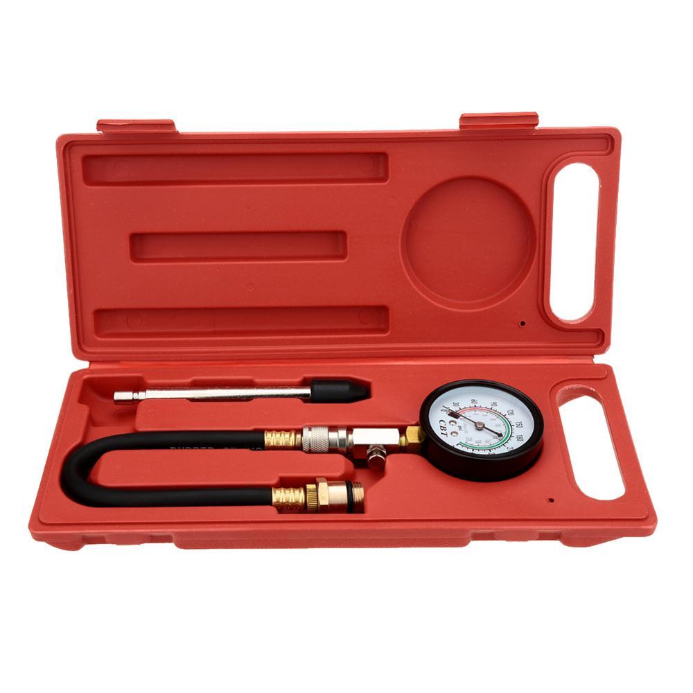 Gasoline Engine Compression Tester Automotive Test G-324 0~300psi Auto Pressure Tester Engine Cylinder Pressure Meter Free Ship