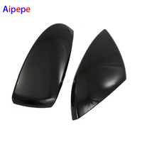 Accessories Fit For Audi A6 C8 2019 ABS Outside Door Rearview Mirror Decoration Protector Shell Molding Cover Kit Trim