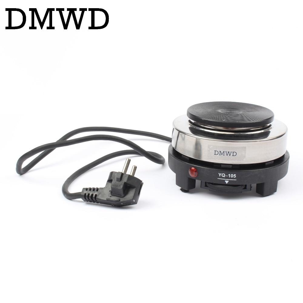 DMWD 110V/220V MINI Electric Moka Stove Oven Cooker Multifunction Coffee Heater Mocha Heating Hot Plate Water Cafe Milk Burner