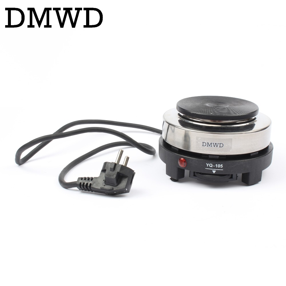DMWD 110V/220V MINI Electric Moka Stove Oven Cooker Multifunction Coffee Heater Mocha Heating Hot Plate Water Cafe Milk Burner(China)