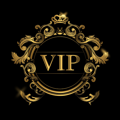 golden crown vip frame black wall photography studio background vinyl cloth high quality