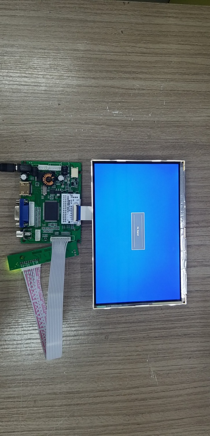 HDMI + 2AV + VGA 7 Inch IPS LCD Panel HSD070PWW1 1280 * 800 Raspberry Pie LCD Screen Display DIY Kits