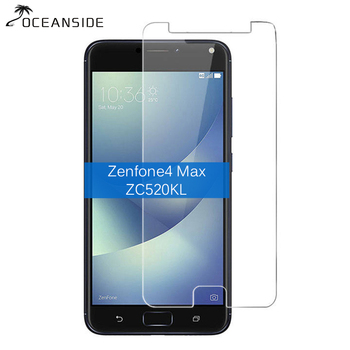 2PCS For Asus Zenfone4 Max Zc520KL Tempered Glass Screen Protector 9h Safety Protective Film on Zenfone 4 ZC520 KL image