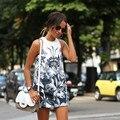 2017 Новая Мода Элегантный Летнее Платье Беременных Печати Тонкий Халат Карандаш Bodycon Женщины Материнства Платье Европейский Стиль Платья