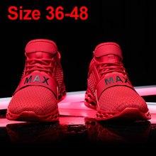 5bc2603309c Weweya 2019 Venta caliente zapatos de amortiguación zapatillas de deporte  de los hombres Max rojo de