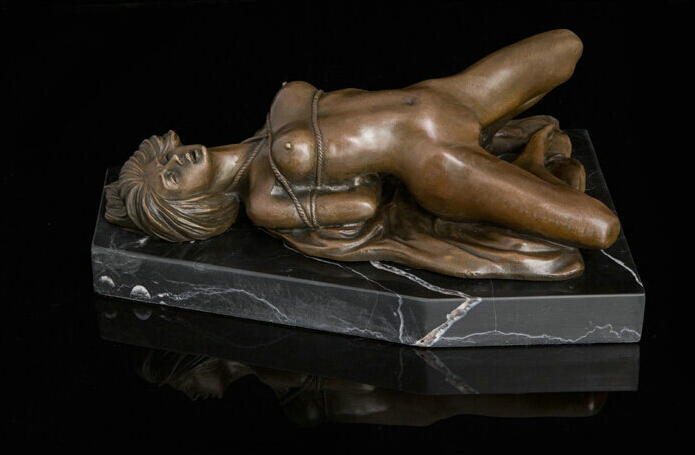 006897 Art Deco Sculpture Sexy Beautiful Naked Woman Bronze Statue006897 Art Deco Sculpture Sexy Beautiful Naked Woman Bronze Statue