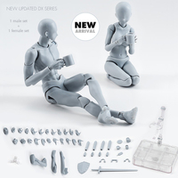 Pandadomik Body Action Figure 2 Set Reference Dolls for Drawing PVC Anime Models Action Toy Figures figuras Gift Toy Girls Boys