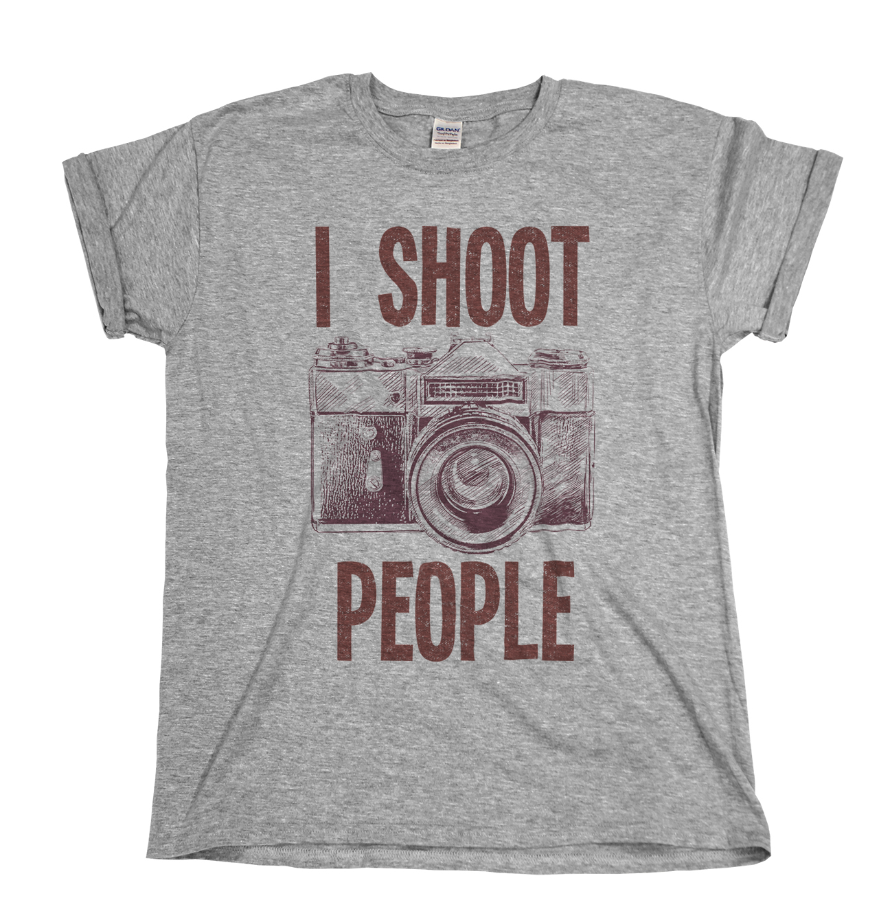 afc17edc I Shoot People Photographer Mens/Ladies T-Shirt Christmas Gift Cool Casual  pride t